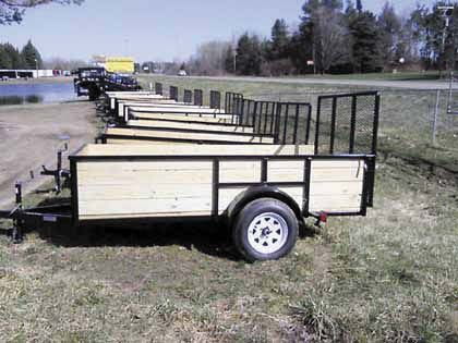 WOOD SIDED LANDSCAPERS for sale in Edmore, MI