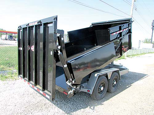 BWISE MANUFACTURING 16' ULTIMATE DUMP TRAILER for sale in Milan, MI