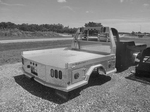 BRADFORD BUILT ALUMINUM 4 BOX BED for sale in Beardstown, IL