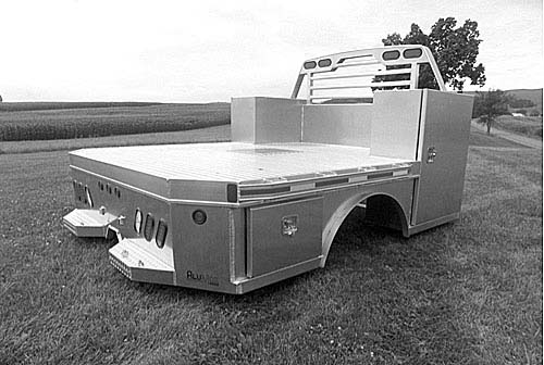 MARTIN SBV SKIRTED FLATBED for sale in Beardstown, IL