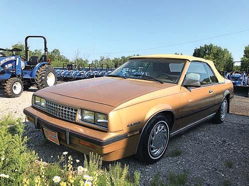 1985 CHEVROLET CAVALIER for sale in Alpena, MI