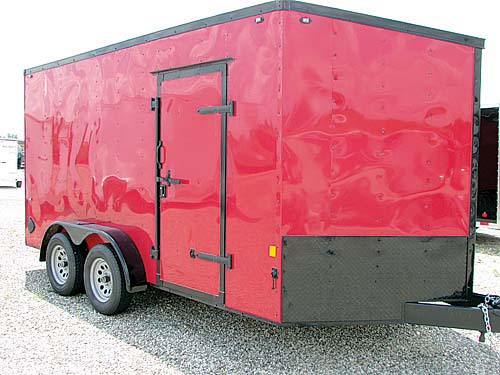 INTERSTATE ENCLOSED TRAILERS for sale in Milan, MI
